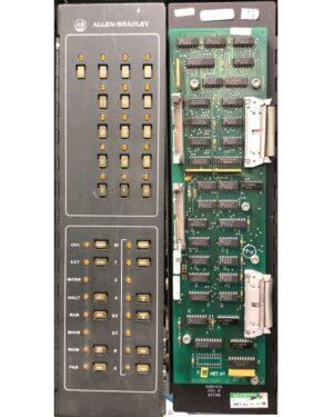 Allen Bradley 8200 Processor Control Panel