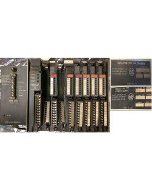 Allen Bradley PLC2 Rack Assembly