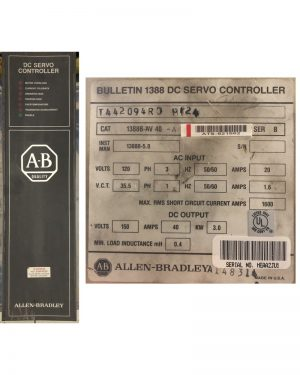 Allen Bradley DC Servo Drive