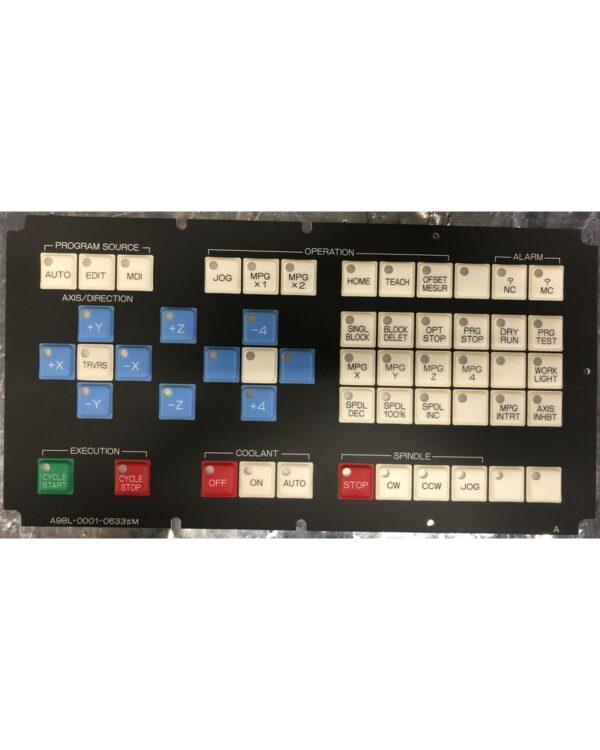 Fanuc Keyboard Membrane