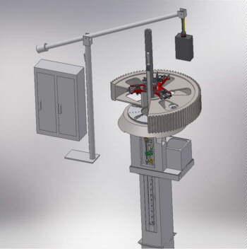 FR-MAG Rapida 150/1500 Key Seating Machine