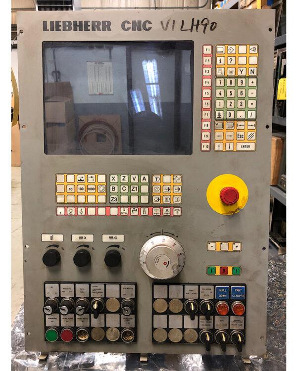 Liebherr LH90 CNC Front Panel