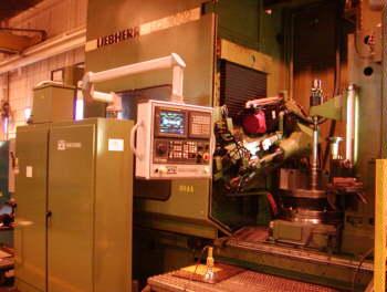 Liebherr LC1002 Gear Hobbing Machine