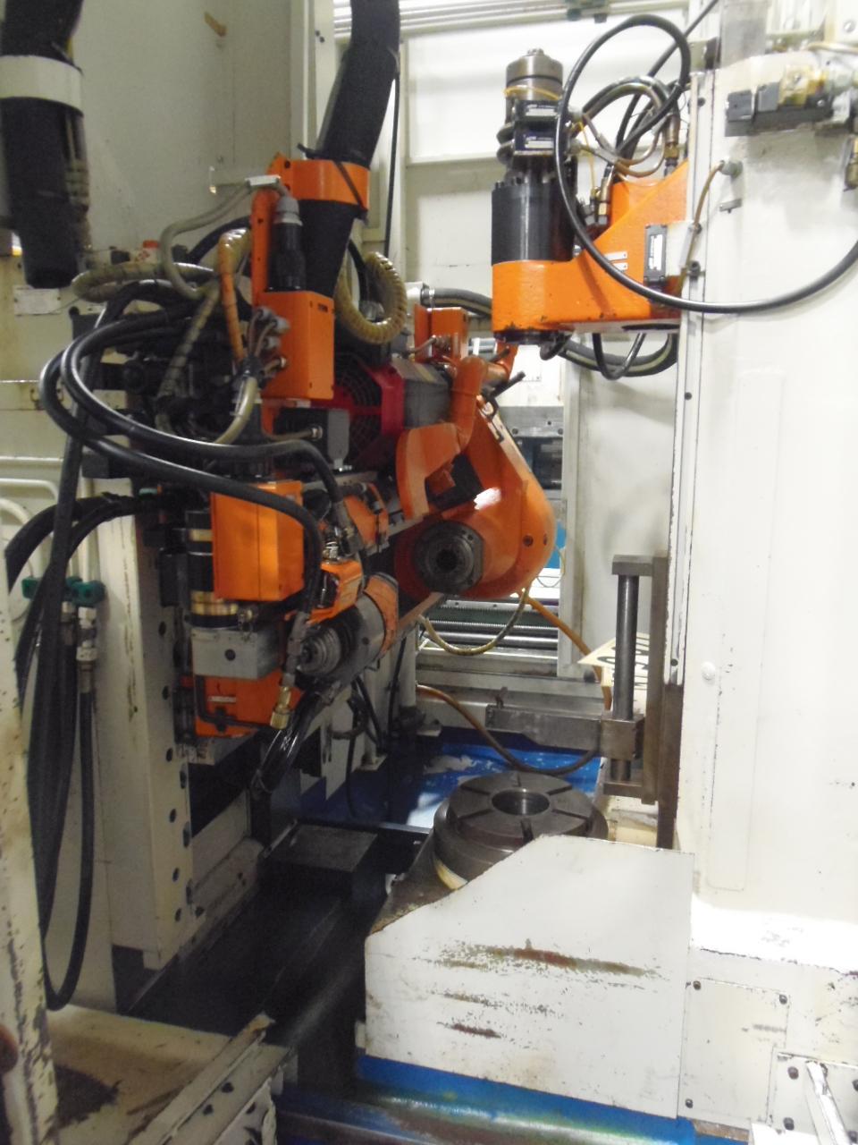 Liebherr LC-255 CNC Hobbing Machine