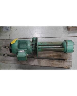 Spandau Maschinenfabrik 3 Phase Induction Motor and Pump
