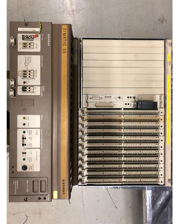 Siemens S5 PLC Rack