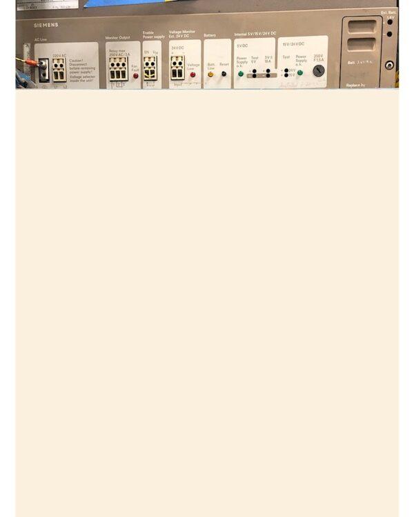 Siemens S5 PLC Power Supply