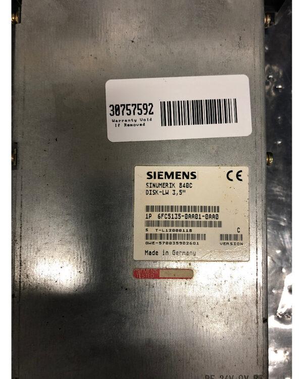 Siemens 840C Diskette Drive