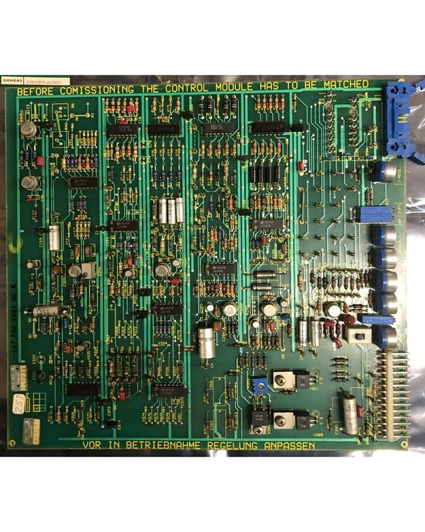Siemens DC Servo Drive Control Card