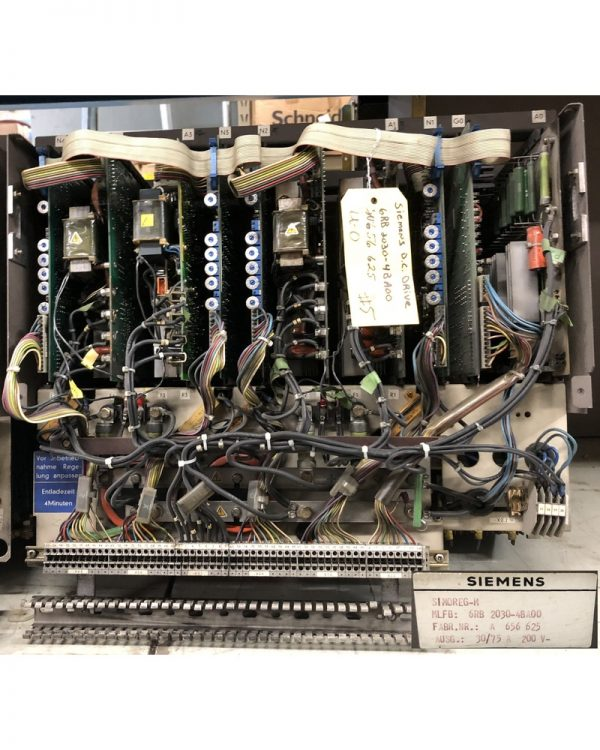 Siemens 6RB DC Drive Rack
