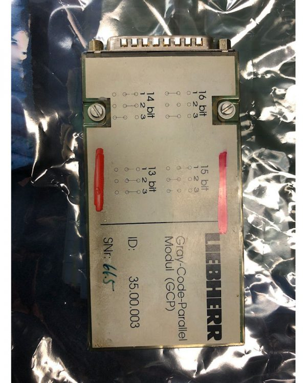 Liebherr V73 Gray Code Module